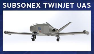 SubSonex Twinjet UAS